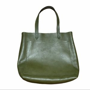 Madewell The Medium Transport Leather Tote Bag